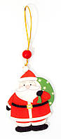 "Украшение на ёлку ""Дед мороз"" 9х6х0,5см (29749)"