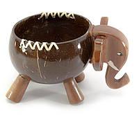 "Блюдо из кокоса ""Слон"" (15,5х11,5х10,5 см)"