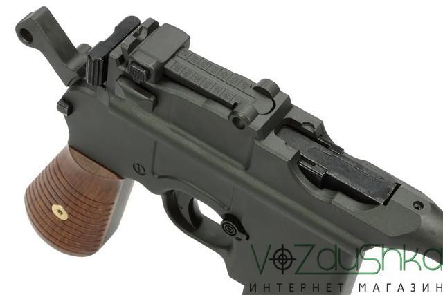 пневматический пистолет mauser m712