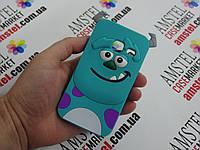 Объемный 3D силиконовый чехол для Samsung Galaxy J105 J1 mini Салливан