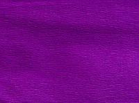 Бумага гофрированная 1 Вересня,сиреневая 55% (50*200 см.)  701525