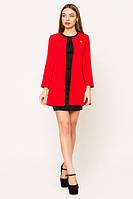 Кардиган женский пиджак удлиненный стильный