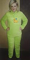 Пижама  женская махра  с длинным рукавом ,доставка по Украине