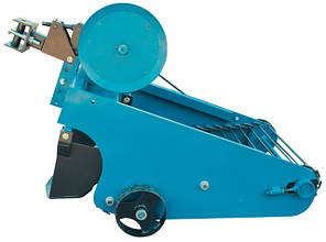 Картофелекопатель вибрационный транспортерный с гидравликой (под мототрактор, Скаут), фото 2