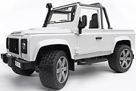 Детский джип Bruder Land Rover Defender Pick Up М1:16 (02591)
