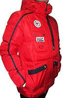 Мужская горнолыжная куртка Snow Headquarter Omni-Heat, красная P. XL, 2XL