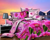 Красивое постельное бельё полуторное