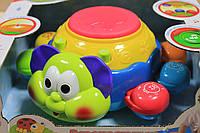 Музыкальный жук барабан, развивающие игрушки для малышей