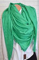 Зеленый платок женский Louis Vuitton