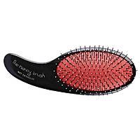 Щетка для волос Olivia Garden Olivia Garden The Kidney Brush Wet Detangler красная