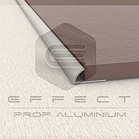 ПЛ-201 Внешний угловой профиль для плитки 10 мм L-3.0 Серебро