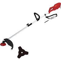 UT-2200 Коса электрическая INDUSTRIALLINE, 2200Вт, 7500об/мин, диам230/420мм, 5кг, нож/леска в компл