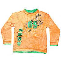 Кофта детская с длинным рукавом оранжевыйоранжевый