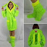Женский набор халат с сапожками