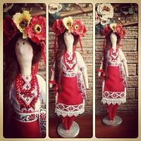 Куклы ручной работы Украинка 0334