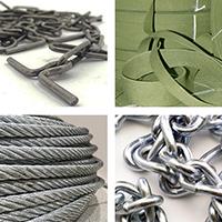 Тросы стальные оцинкованные, цепи, проволока