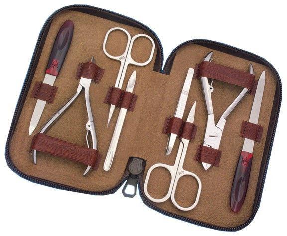 Набор маникюрный  DUP 04-3513, 8 предметов
