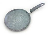 Сковорода для блинов алюминиевая 24 см с каменным антипригарным покрытием Fissman Moon Stone (AL-4405.24)
