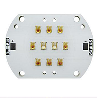 Модуль для подсветки растений на светодиодах Philips Lumileds 10шт(620-630nm\450nm)