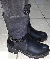 Ботинки женские зимние мод № ml6215 ВЕРОН