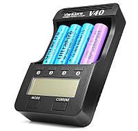 VariCore V40 Универсальное зарядное для всех видов баночных аккумуляторов Li-Pol, Ni-Mh: 18650, АА, ААА и т.д