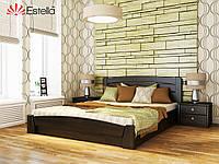 Кровать с подъемным механизмом из натурального дерева Селена-Аури (Эстелла)