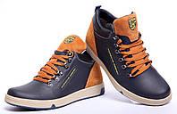 Кроссовки кожаные зимние Adidas Porshe Design