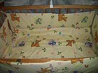 """Детское постельное белье из хлопка """"Бэмби"""", в комплекте 9 предметов, Украина"""