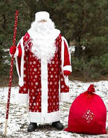Карнавальный костюм Деда Мороза Прокат