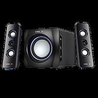 Акустическая система 2.1 Crown CMS-3710 black