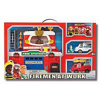 """Детский игровой набор """"Пожарная станция"""" Keenway"""