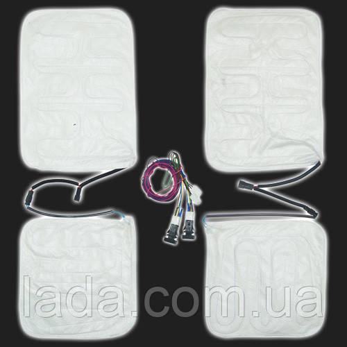 Подогрев сидений ВАЗ 2190, 2191, Гранта, 2192, 2194, Калина 2 установочный комплект