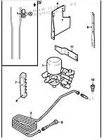 1607274 шланг компрессора /осушителя/