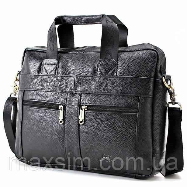 96de469bfb30 Деловой мужской кожаный портфель Cross Ox для ноутбука, планшета,  документов из натуральной кожи -