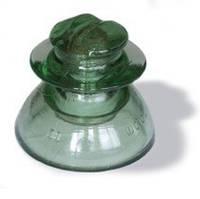 Стеклянный штыревой изолятор НС-18 А,  ШС-10 Д