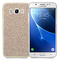 Чехол-накладка Utty Blink case Samsung J5(2016) J510 серебро/золото/синий