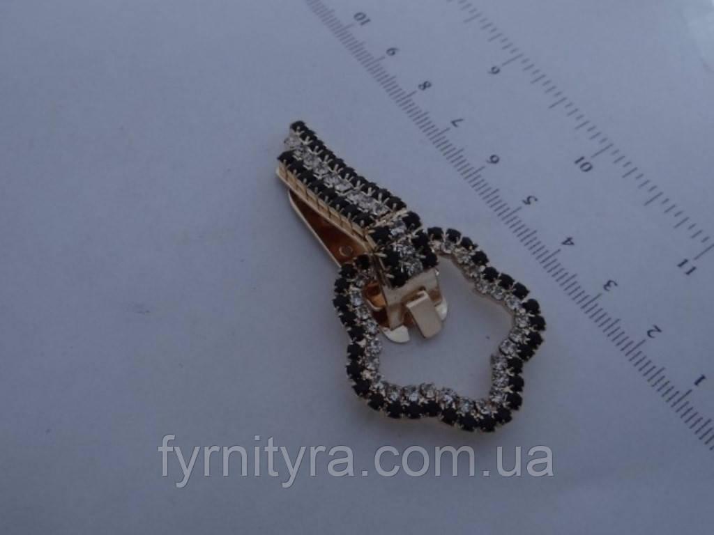 Клипса шубная (шубный крючек) 026 gold