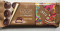 Черный шоколад Peanut Cream (Арахисовый крем) COCOA TRAVEL Baron Польша 100г