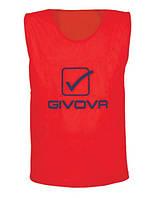 Манишка Givova color RED senior CT01-6