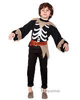 Детский костюм для мальчика Скелет