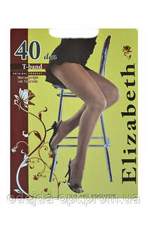 Elizabeth Колготки 40 den (без шортиков с ластовицей) 009EL размер-5 черный