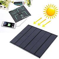 Солнечная панель зарядное USB 5V 0.5A