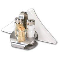 Набор Renberg для соль-перец-зубочистки-салфетница