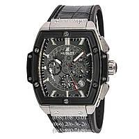 Мужские наручные часы Hublot Spirit of Big Bang Black/Silver-Black/Black