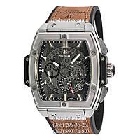 Мужские наручные часы Hublot Spirit of Big Bang Brown/Silver/Black