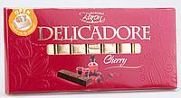 Шоколад черный DELIKADOR Cherry ( с вишней) Baron Польша 200г