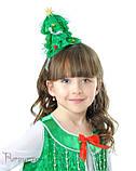 Детский костюм для девочки Елочка пушистая, фото 2