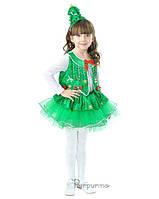 Детский костюм для девочки Елочка пушистая