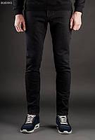 Штаны Staff джинсы skinny stretch Black Art. BLK0001