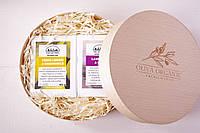 Набор оливкового мыла с тростниковым сахаром Workshop №1. 2х145g. Греция